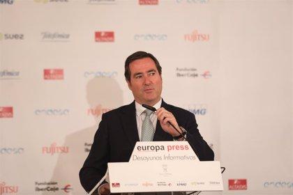 """Garamendi (CEOE) quiere un gobierno """"estable"""" que respete la ley, la unidad de España y la igualdad entre españoles"""