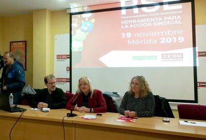 CCOO Extremadura reitera en unas jornadas en Mérida la necesidad de incluir la Responsabilidad Social en las empresas