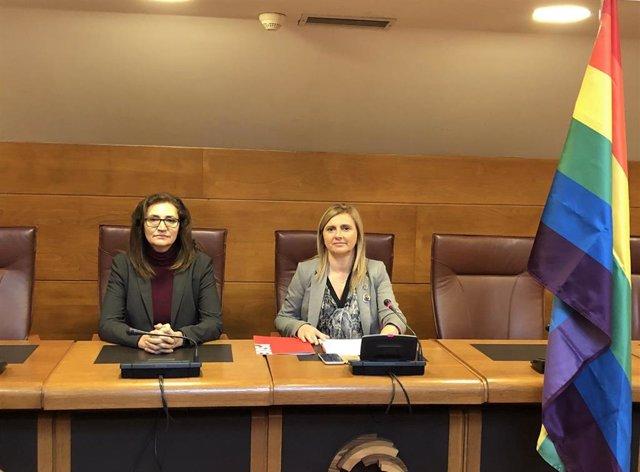 Noelia Cobo (PSOE) sobre ley LGTBI