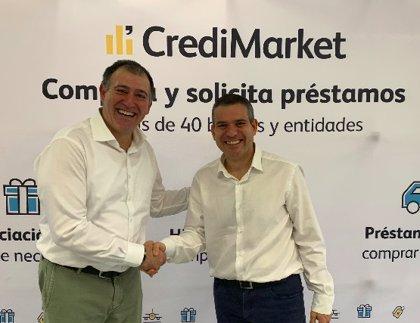 El comparador CrediMarket.com y la correduría Proyectos y Seguros firman un acuerdo de colaboración