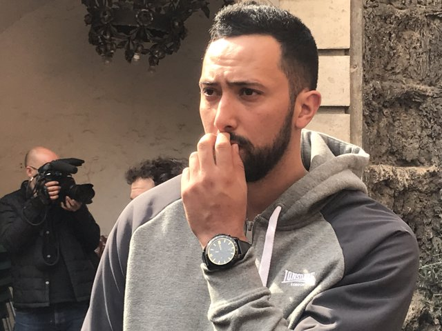El raper Valtonyc a Barcelona