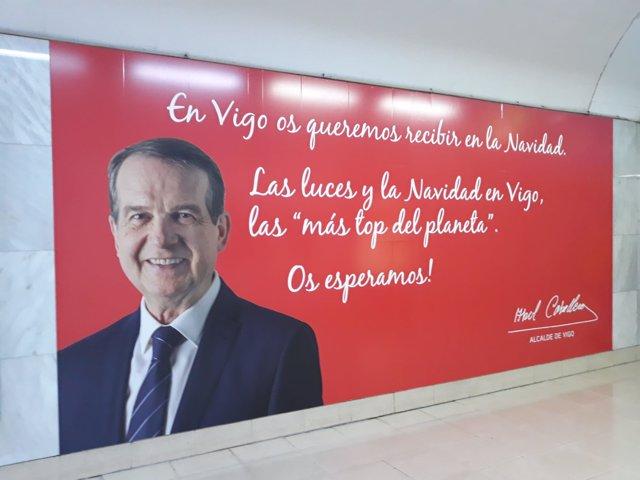 El alcalde de Vigo ensalza sus luces de Navidad en la capital e ...