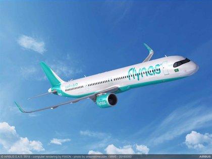 flynas firma con Airbus un pedido para diez A321XLR, valorados en unos 1.200 millones