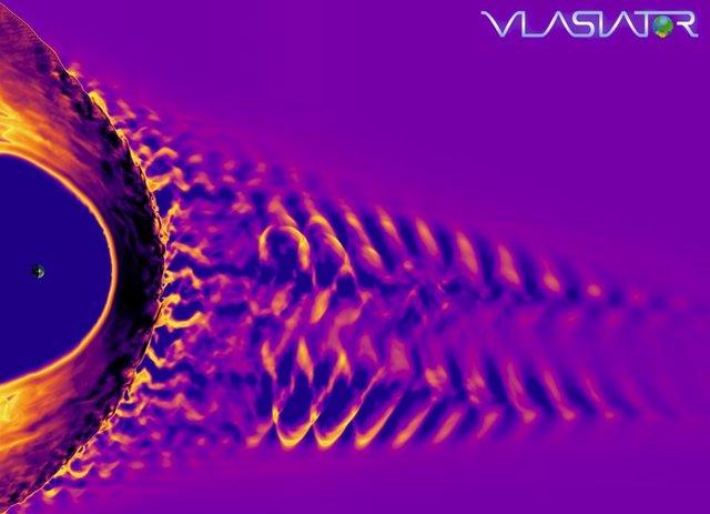 """Resultado de imagen de VÍDEO Escucha la canción magnética de la Tierra en una tormenta solar"""""""