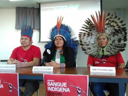 """Brasil.- Líderes indígenas alertan en Valencia de que la destrucción de la selva brasileña es """"una amenaza para todo el planeta"""""""