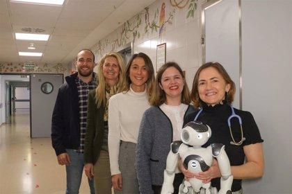 El robot Hero para la rehabilitación de niños con cáncer, premio de la Sociedad Andaluza de Calidad Sanitaria