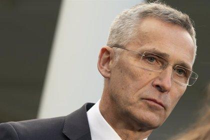 """OTAN.- Stoltenberg replica a Macron que """"la UE no puede sustituir a la OTAN"""" y pide no debilitar a la Alianza"""