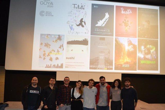 Cortos valencianos candidatos a los Goya