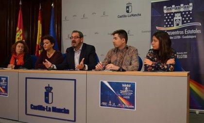 Los XXXI Encuentros Estatales LGTBI+ se celebrarán esta semana en Guadalajara