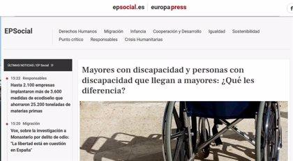 Epsocial, premio 'Prodis XX Aniversario' de CERMI Comunidad de Madrid