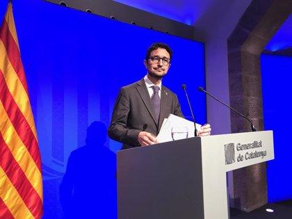 """Calvet afirma que el Gobierno catalán quiere aprobar unos presupuestos """"sólidos"""" con el apoyo de los 'comuns'"""