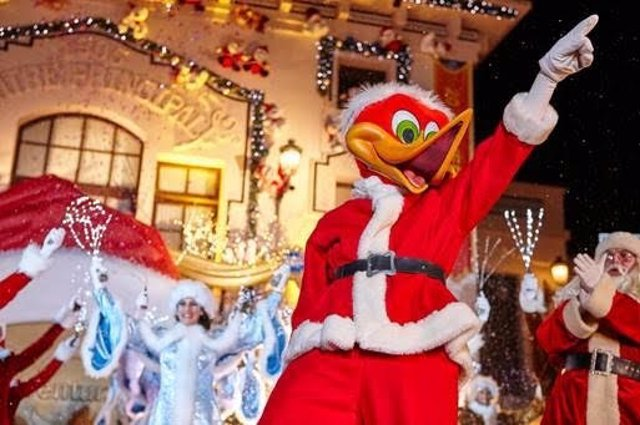PortAventura World en Nadal