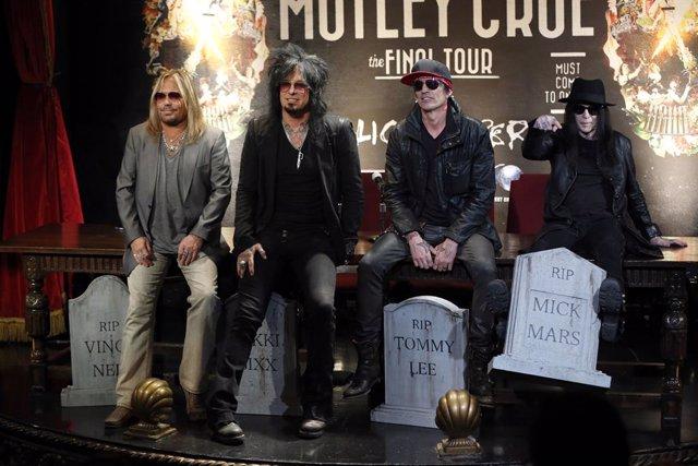 Anuncio del final de Mötley Crüe