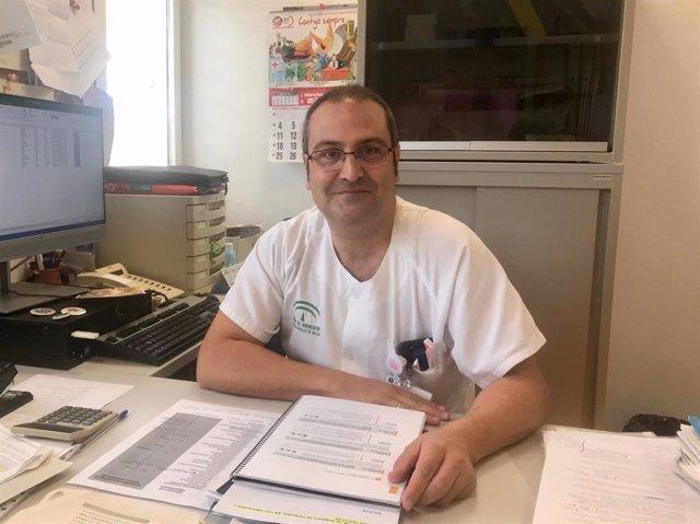 Felipe Cañadas, coordinador de competencias del Hospital Torrecárdenas