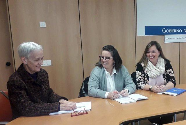 Fotos Consejera Educación Reunión Concapa