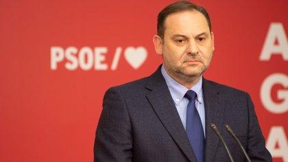 """Ábalos dice que el caso ERE """"no es del PSOE"""" sino de personas que no están ya en el partido y carga contra el PP"""