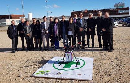 El proyecto Pharmadron quiere garantizar el acceso a los medicamentos en núcleos rurales usando drones