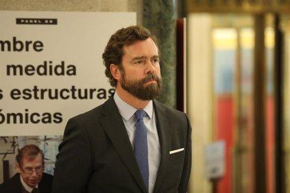 """Vox, sobre la investigación a Monasterio por delito de odio: """"La libertad está en cuestión en España"""""""