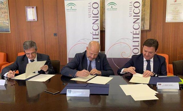 Educación y Bankia firman un convenio para mejora la calidad de la Formación Profesional