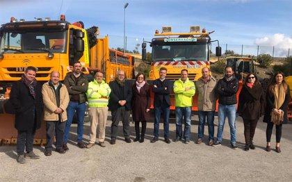Fomento destina 2,5 millones a la mejora de la seguridad de las carreteras de la provincia de Jaén en invierno
