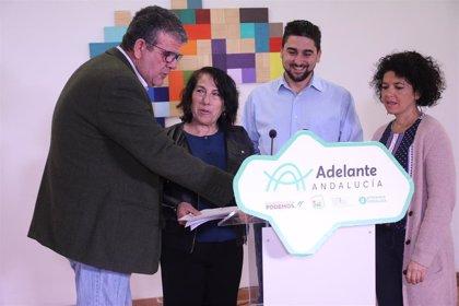 Adelante Andalucía presenta 220 enmiendas al Presupuesto de la Junta para Sevilla por valor de 580 millones