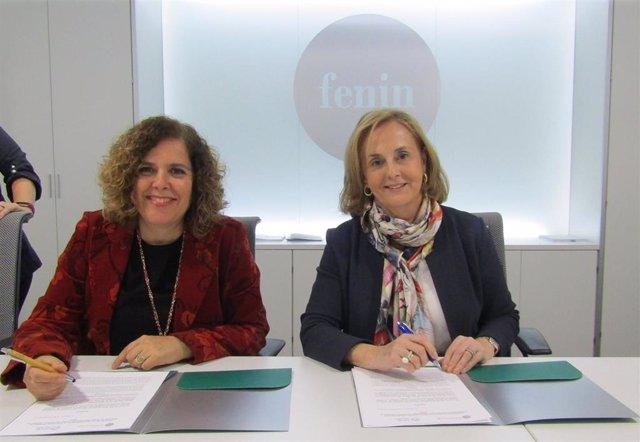 Firma convenio Fenin-ISPOR