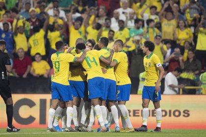 Brasil rompe su mala racha con una goleada ante Corea del Sur