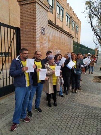 Padres de Sevilla presentan 160 quejas por el déficit de personal en educación especial y plantean ir al Defensor