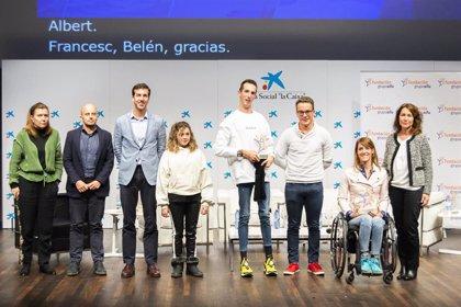 La Fundación Grupo Sifu entrega sus cinco becas a jóvenes promesas del deporte adaptado