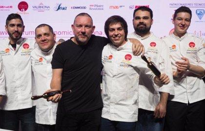 Víctor Gonzalo, mejor pastelero de postres de restaurante en Fórum Gastronómico Barcelona