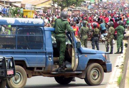 Cientos de mujeres protestan en Guinea contra la represión de las protestas antigubernamentales