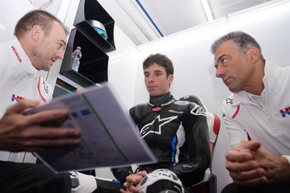 """Álex Márquez: """"Quiero agradecer a Honda esta oportunidad, he disfrutado mucho en mi debut"""""""