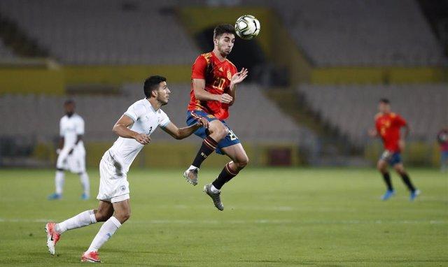 Fútbol/Sub-21.- Crónica del Israel - España, 1-1