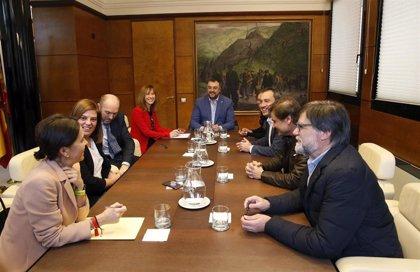 """El Principado satisfecho del primer encuentro con IU al coincidir en """"prioridades y planteamientos"""""""