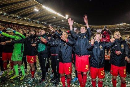 Bélgica cierra una clasificación perfecta con una goleada ante Chipre