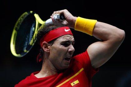 Nadal sujeta la eliminatoria contra Rusia a la espera del decisivo dobles