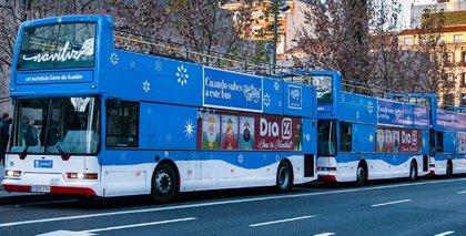 El 'Naviluz' se pondrá en marcha el 29 de noviembre y lo hará ahora con los buses turísticos de Madrid