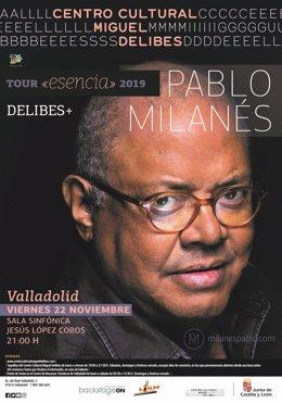 El músico cubano Pablo Milanés lleva los temas icónicos de su trayectoria este v