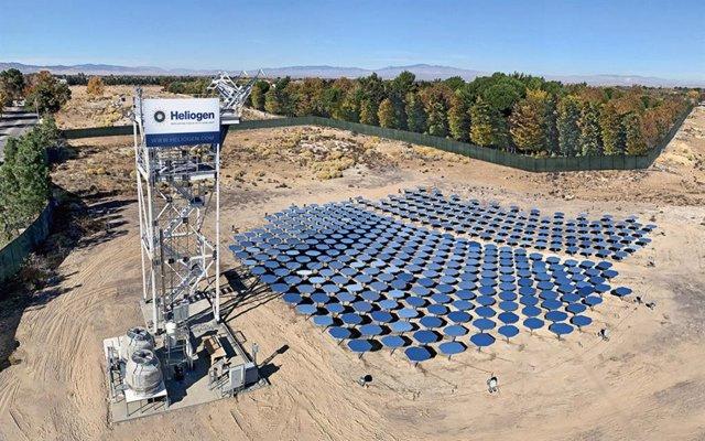 Planta solar de Heliogen