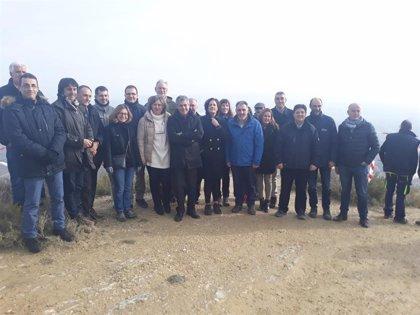 Las obras de restauración fluvial del Arga en Funes avanzan hacia su tercera fase tras una inversión de 8,3 millones
