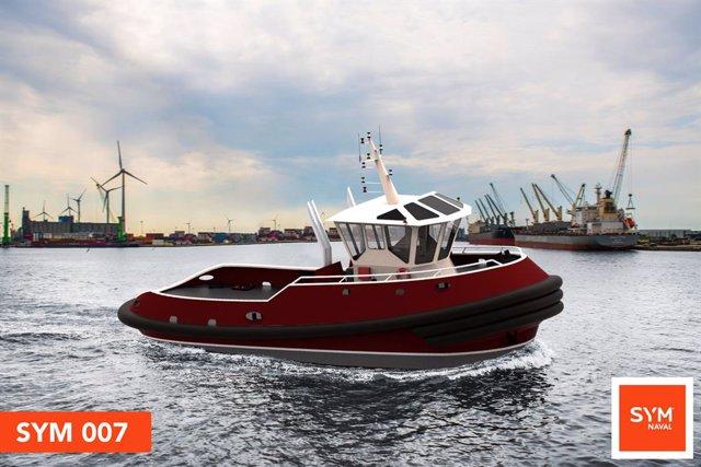 Economía.- Boluda encarga dos remolcadores a los astilleros SYM Naval de Barcelo