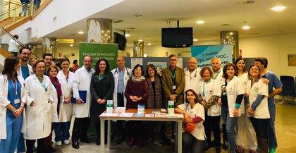 Más de 3.500 pacientes con enfermedad pulmonar obstructiva crónica son atendidos cada año en Hospital Clínico de Málaga