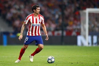 Stefan Savic recae de su lesión muscular y no podrá jugar en Granada