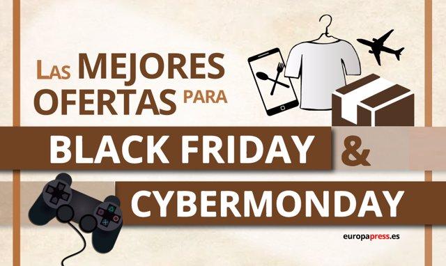 Las mejores ofertas para el Black Friday y el Cyber Monday 2019