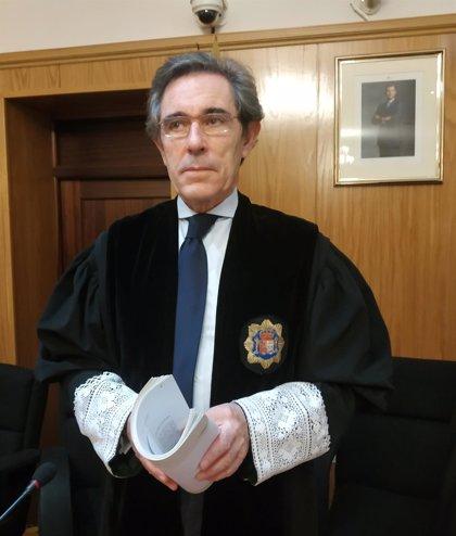 Fernando Pizarro, presidente de la Sección Segunda de lo Penal de la Audiencia de Valladolid