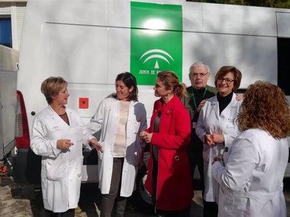 El Centro de Transfusión Sanguínea de Jaén incorpora una segunda nueva unidad móvil