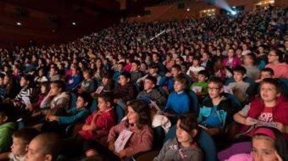 Un total de 2.500 escolares disfrutan de la OSE en 'Urrutiko Lurraldeak' este jueves y viernes en San Sebastián