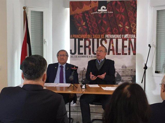 O.Próximo.- Palestina pide a España y a la UE el reconocimiento de su estado tra