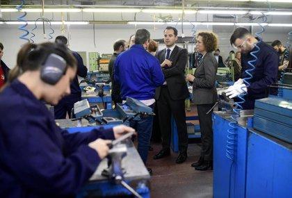 """Aguado defiende que el Centro de Formación de Leganés es el """"futuro"""" con una inserción laboral del 73,5%"""