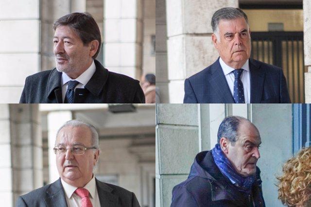 Francisco Javier Guerrero, José Antonio Viera, Antonio Fernández y Juan Márquez, condenados por el caso ERE para los que Anticorrupción pide ingreso inmediato en prisión